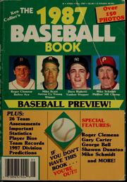 Cover of: Ken Collier's the ... baseball book