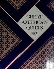 Cover of: Great American Quilts |