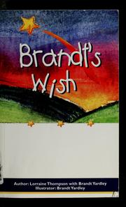 Cover of: Brandt's wish