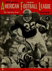 Cover of: American Football League official guide ...