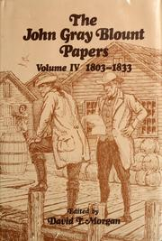 Cover of: The John Gray Blount papers. | John Gray Blount