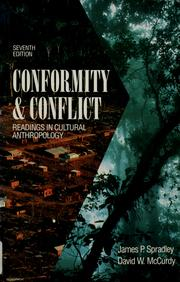 Cover of: Conformity & Conflict by James P. Spradley