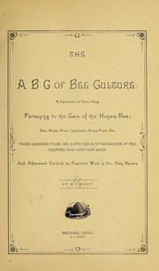 Cover of: The ABC of bee culture