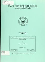 Cover of: The simulation-based acquisition research laboratory