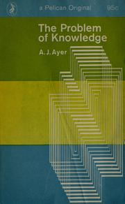 Cover of: The Problem of Knowledge