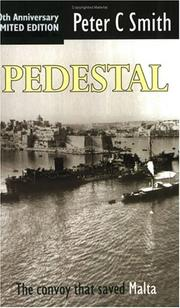 Cover of: Pedestal | Peter Smith