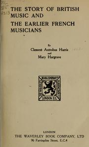 Cover of: The story of British music