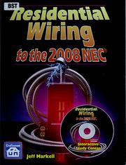 Cover of: Residential wiring to the 2008 NEC