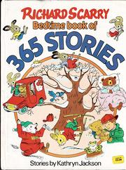 Cover of: The Bedtime Book of 365 Stories: A Story for Every Day of the Year