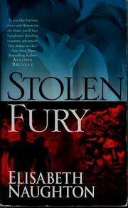 Cover of: Stolen Fury