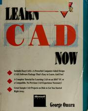 Cover of: Learn CAD now