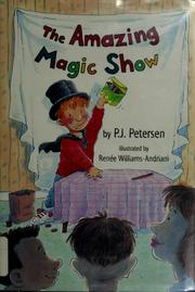 Cover of: The amazing magic show