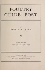 Cover of: Poultry guide post