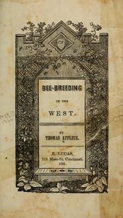 Cover of: Bee-breeding in the West