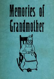 Cover of: Memories of Grandmother