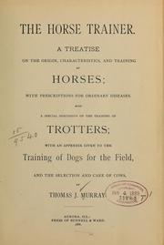 Cover of: The horse trainer