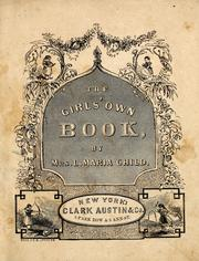 Cover of: The girl's own book
