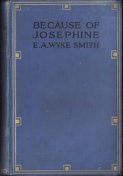 Cover of: Because of Josephine