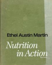 Cover of: Nutrition in action. | Ethel Austin Martin