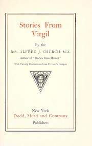 Cover of: Stories from Virgil