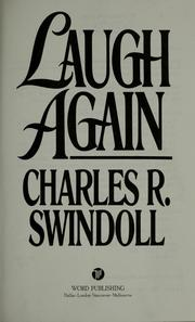 Cover of: Laugh again | Charles R. Swindoll
