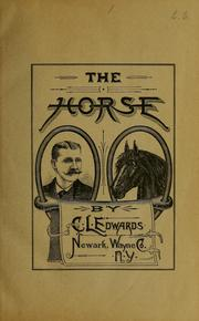 Cover of: Prof. C. L. Edwards' Progressive, illustrated horsemanship
