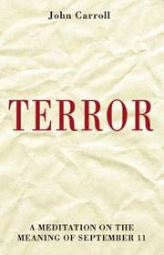 Cover of: Terror | John Carroll