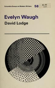 Cover of: Evelyn Waugh