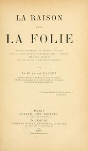 Cover of: La raison dans la folie