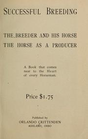 Cover of: Successful breeding