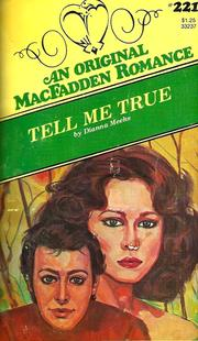 Cover of: Tell Me True