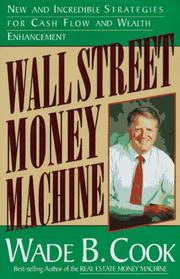 Cover of: Wall Street money machine | Wade Cook