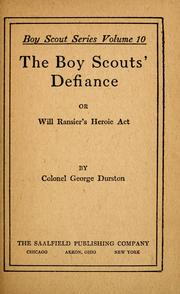 Cover of: The Boy Scouts