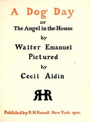 Cover of: A dog day; or, The angel in the house