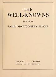 Cover of: The well-knowns as seen