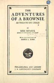 Cover of: The adventures of a brownie: as told to my child