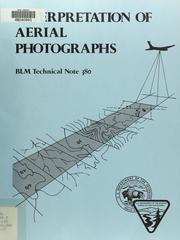 Cover of: Interpretation of aerial photographs