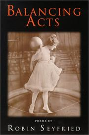 Cover of: Balancing acts