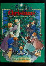 Cover of: A Treasury of Christmas carols, poems, and games to share