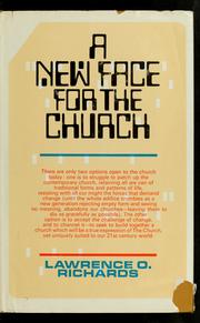 Cover of: A new face for the church