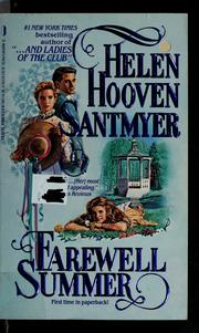Cover of: Farewell, summer