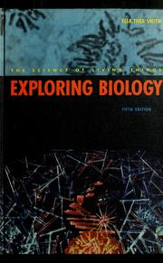 Cover of: Exploring biology