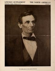Cover of: Lincoln supplement, The North American