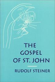 Cover of: The Gospel of St. John