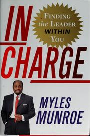 Cover of: In charge: finding the leader within you