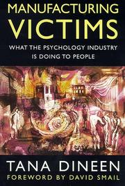 Cover of: Manufacturing Victims (Psychology/self-help)