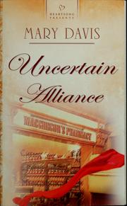 Cover of: Uncertain alliance