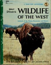 Cover of: Walt Disney's Wildlife of the West