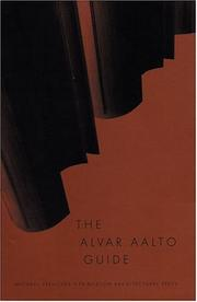 Cover of: The Alvar Aalto guide