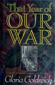 Cover of: That year of our war